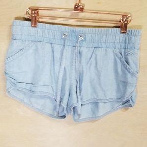 Lorna Jane Black Popover Shorts